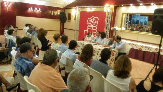 Encuentro con la militancia del PSOE