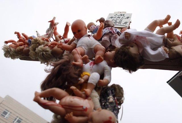 Manifestación En Berlín Contra Los Abusos Sexuales En La Iglesia Católica
