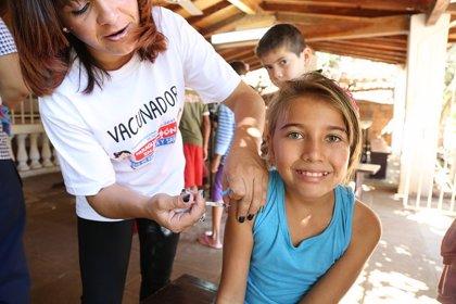 La OMS asegura que en 2017 el 90% de los niños europeos recibió la segunda dosis de la vacuna del sarampión
