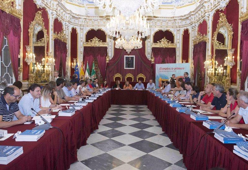 Diputaci n y 40 ayuntamientos de c diz acuerdan las for Programa de cuarto