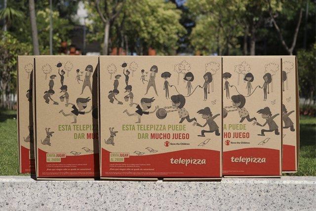 Telepizza y Save the Children se unen para luchar contra la pobreza infantil a t
