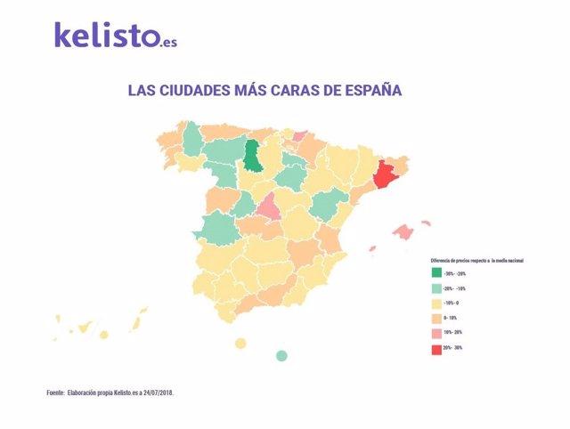 Logroño, la cuarta ciudad más barata para vivir en España