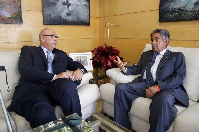 El presidente y el embajador