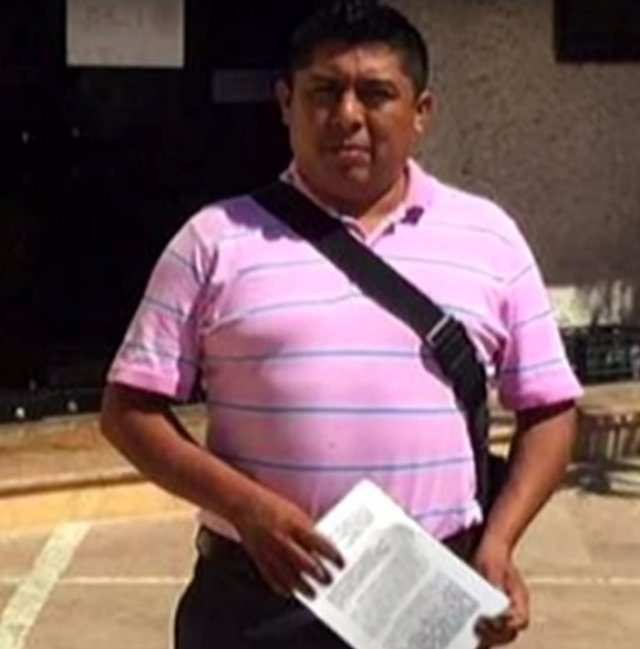 Ruben Pat, periodista asesinado de México