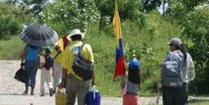 La violencia en Colombia provocó el desplazamiento de casi 100 personas al día en el primer semestre del año
