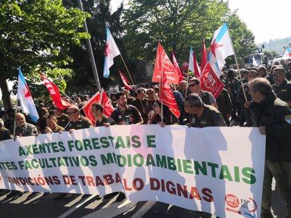 Agentes forestales y medioambientales van a la huelga desde este miércoles