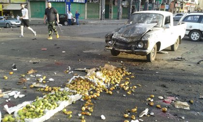 Aumentan a más de 220 los muertos en los atentados en zonas controladas por el Gobierno en el suroeste de Siria