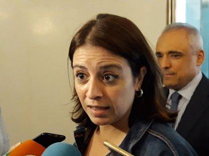 """Adriana Lastra dice que """"no hay adelanto electoral a la vista"""" sino """"debilidad de la oposición"""""""
