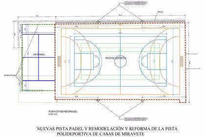 La Diputación de Cáceres invierte 115.500 euros en diversas obras en Casas de Miravete, en el marco del Plan Activa