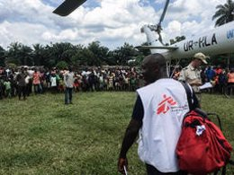 MSF en el la República Democrática del Congo