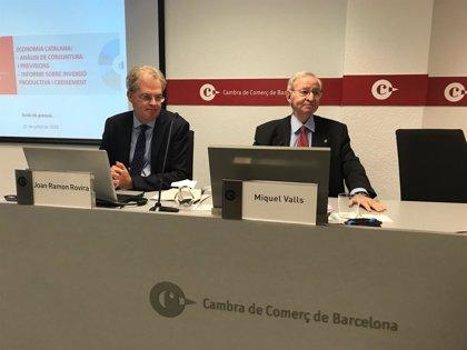 La Cámara de Barcelona mantiene que la economía catalana crecerá un 3,1% este año