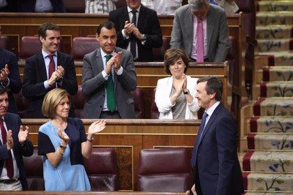 """Hernando dice que el Grupo Popular """"está absolutamente homogéneo"""" tras el congreso"""