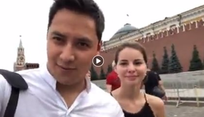 Un mexicano se pierde en las calles de Moscú durante el Mundial de Rusia y encuentra al amor de su vida