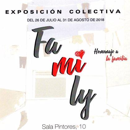 La Sala Pintores 10 de Cáceres ofrece desde este jueves la muestra colectiva 'Family' a cargo del Círculo Multiplástico