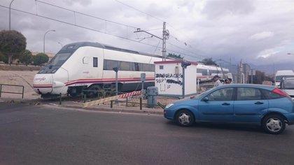 Comienza la adaptación de la estación de Huércal-Viator de Almería para las obras de El Puche