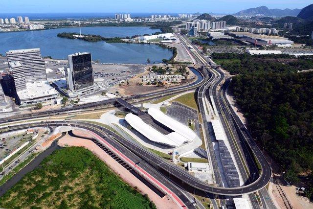 Paseo Olímpico de Río, construido por la española Copasa
