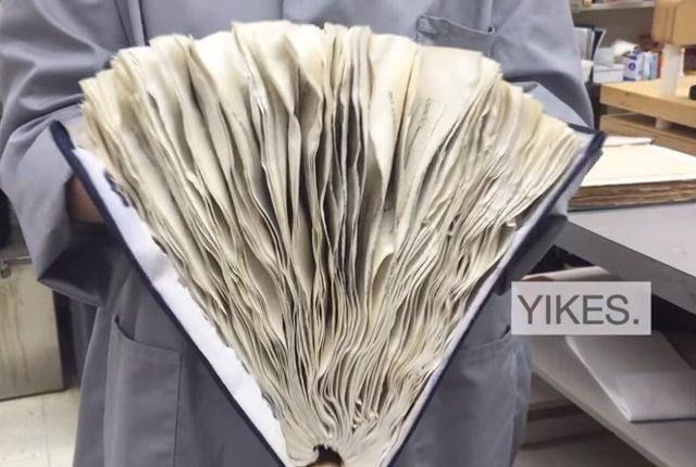 Restaurar libros
