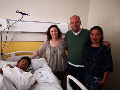 """La historia personal de Wilmer Arias, el joven guatemalteco """"partido en dos"""""""