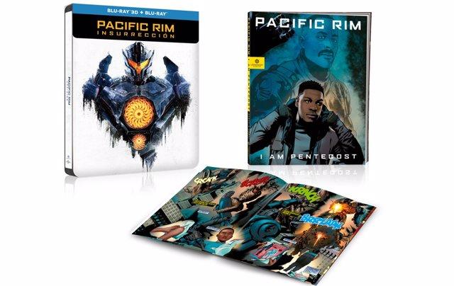 Pacific Rim: Insurrección En Blu-Ray