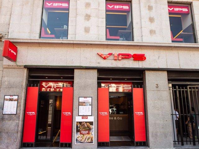 Vips Abre Un Restaurante En La Madrile A Puerta Del Sol