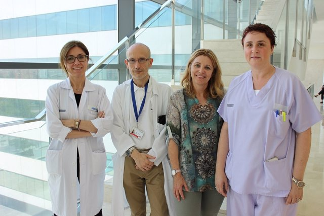 Investigadores del Hospital La Fe de Valencia