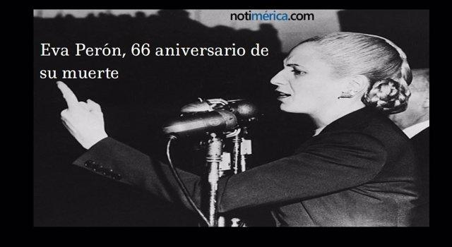 66 Aniversario De La Muerte De Eva Perón
