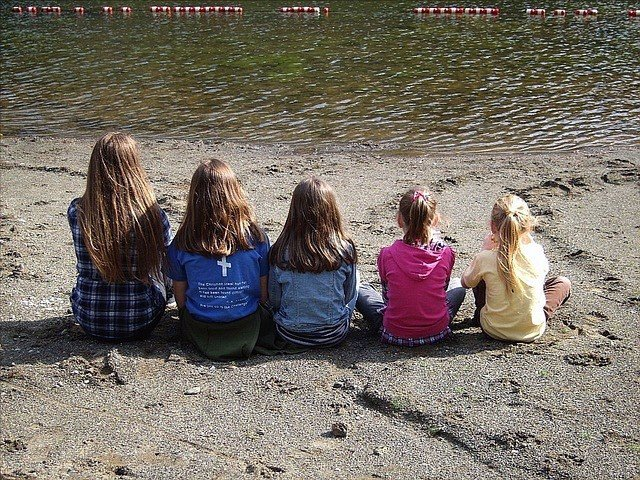 Cinco niñas, hijas