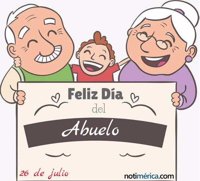5957e90c35a6 26 de julio  Día del Abuelo