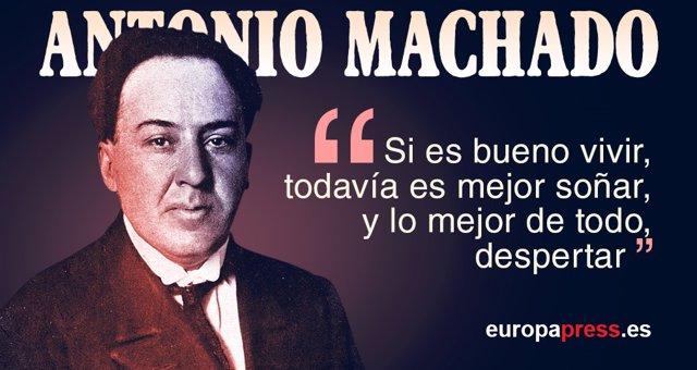 20 Versos Para Recordar A Antonio Machado