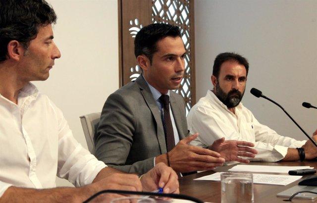Manuel Borrego presenta el plan sobre cajeros automáticos