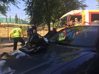 Muere una mujer de 71 años tras ser atropellada por un turismo en Vicálvaro