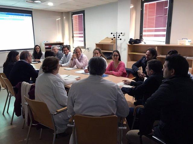 Reunión del Comité de Cáncer de Cabeza y Cuello