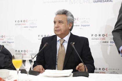 """Moreno asegura que durante el Gobierno de Correa la droga cruzaba la frontera """"en absoluta libertad"""""""