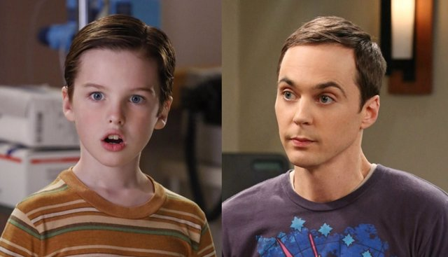 El joven Sheldon y The Big Bang Theory
