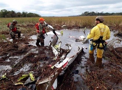 España expresa sus condolencias por la muerte del ministro de Agricultura de Paraguay en un accidente de avión