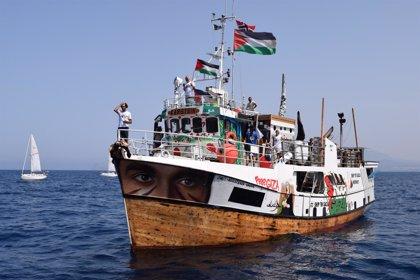 La flotilla Rumbo a Gaza se aproxima al enclave palestino ante el temor de un arresto inminente