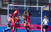 Foto: España, a octavos del Mundial de hockey hierba pese a perder ante Alemania