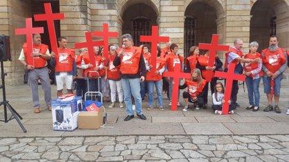 """Afectados pola Hepatite C reclaman """"justicia"""" y """"equidad"""" en el día mundial contra la enfermedad"""