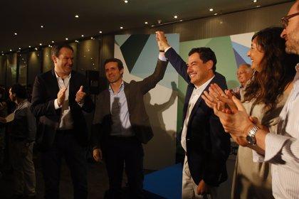 """Casado afirma que su """"candidato"""" en Andalucía es Moreno, quien le ve como un """"gran aliado"""""""
