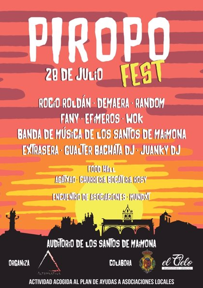 Las mejores agrupaciones musicales de Los Santos de Maimona participan este sábado en el 'Piropo Fest'