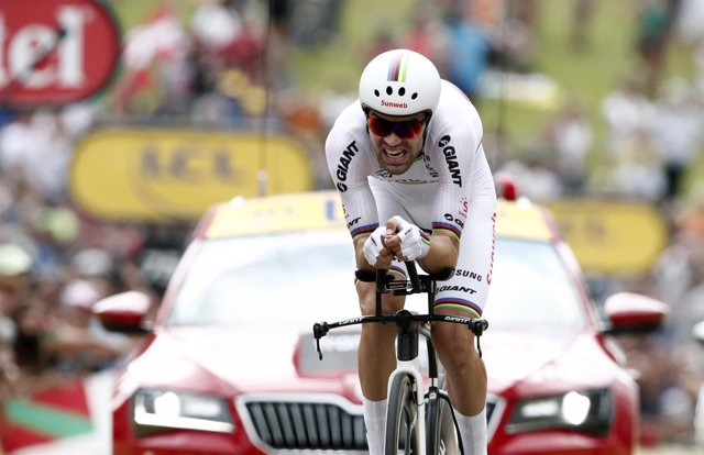 Cycling - Tour de France - The 31-km Stage 20 Individual Time Trial