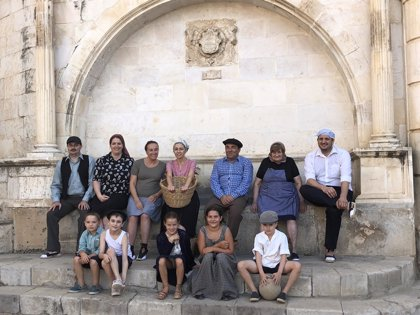 Fonz (Huesca) regresa a la posguerra con el rodaje de 'Luz de septiembre'