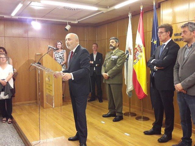 Toma posesión Javier Losada como delegado Gobierno