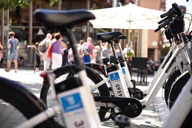 Bicicleta eléctrica en Madrid