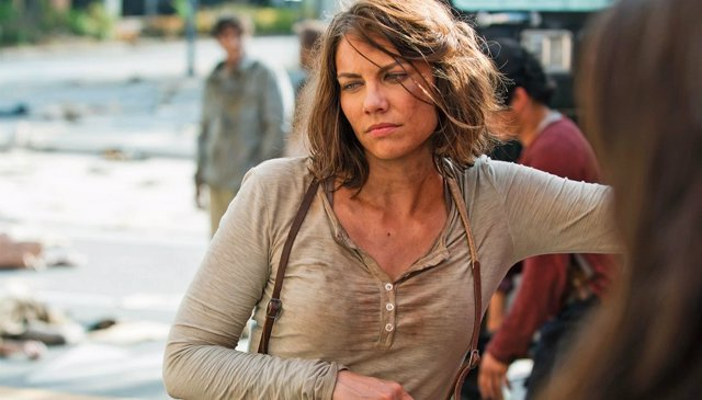 Lauren Cohan en The Walking Dead