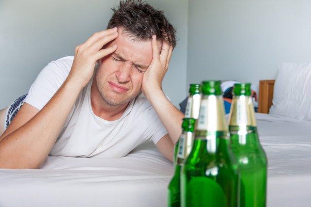 Resaca, dolor de cabeza
