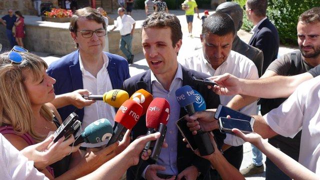 Pablo Casado en Ávila