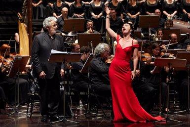 Plácido Domingo i Ermonela Jaho triomfen amb una emocional 'Thaïs' a Peralada (TOTI FERRER/PERALADA)