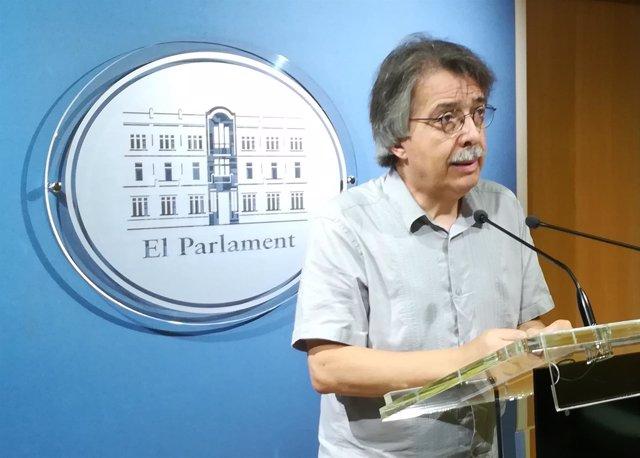 El portavoz de Cs en Baleares, Xavier Pericay