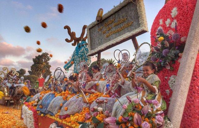 Batalla de Flores de València
